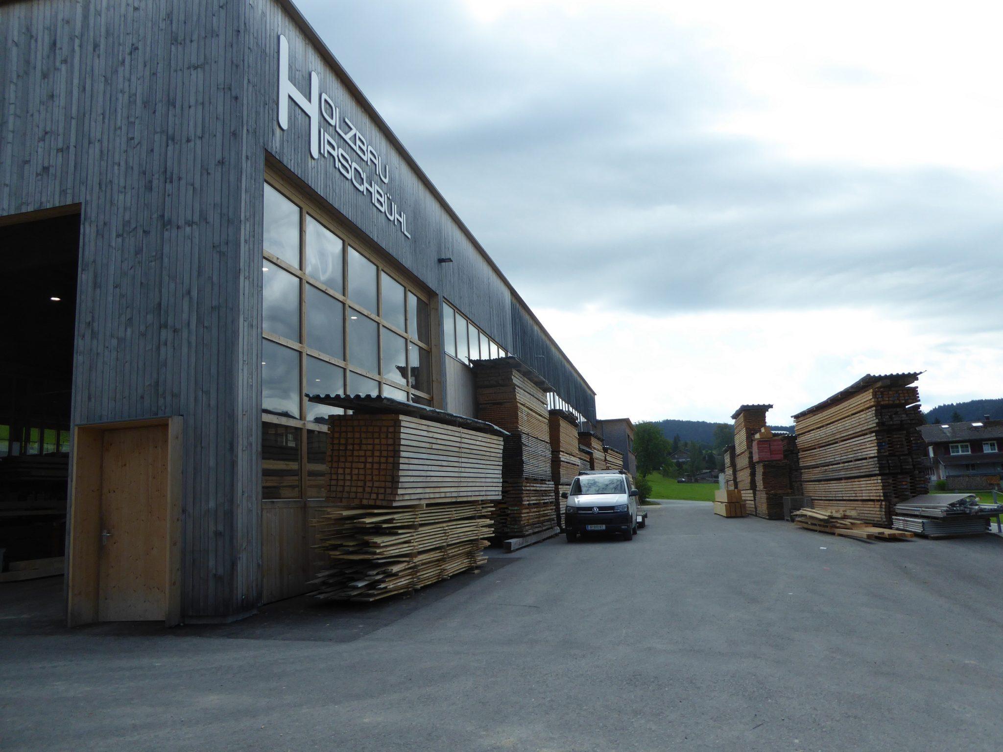 Holzbau Hirschbühl, Riefensberg