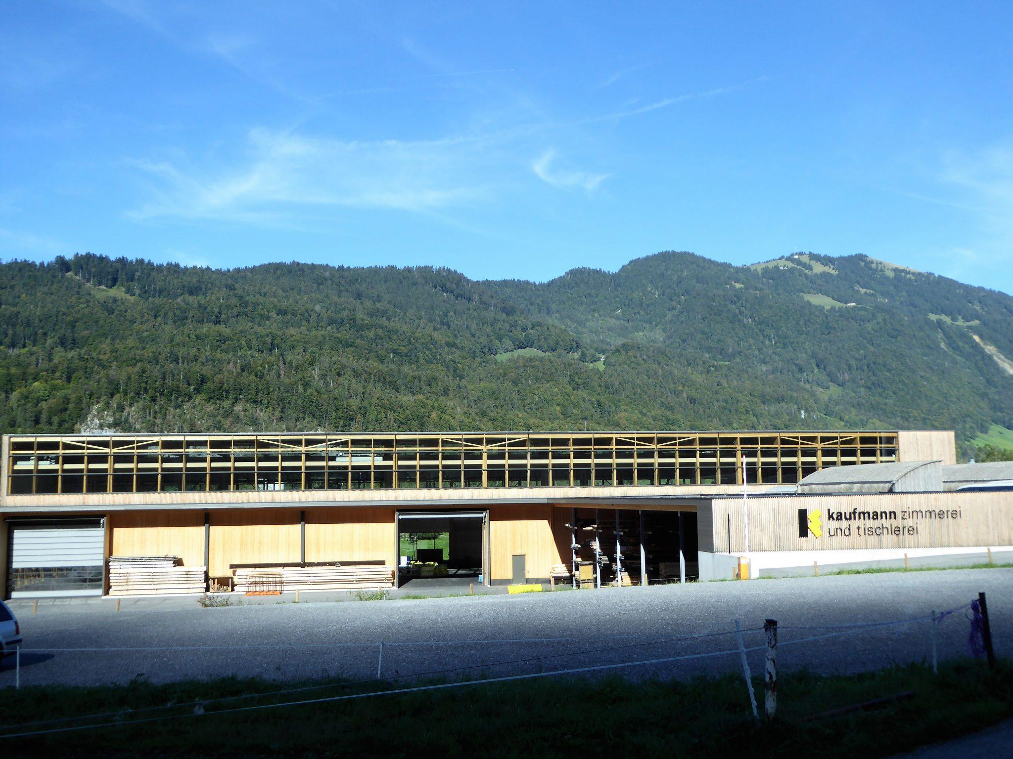 Montagehalle Kaufmann, Reuthe
